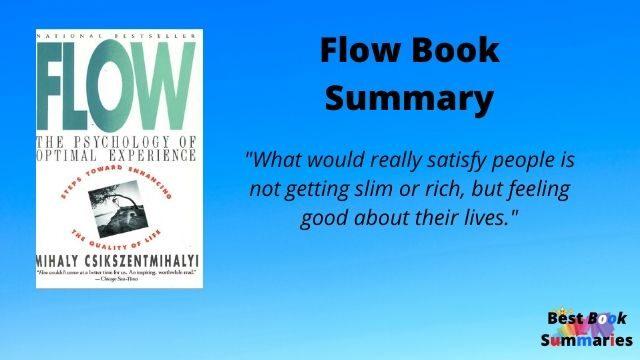 flow book summary