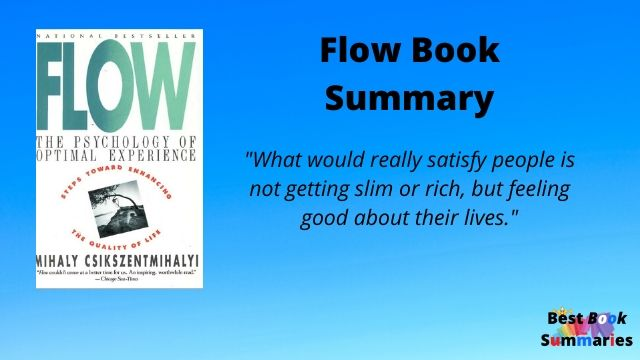 flow book summary