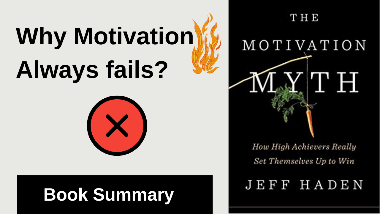 how to get things done without motivation